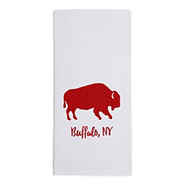 Destination Buffalo Double Duty Cotton Kitchen Towel