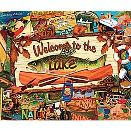 Welcome To the Lake 1,000-Piece Puzzle
