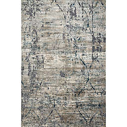 Loloi Cascade 7'10 x 10'10 Area Rug in Taupe/Blue