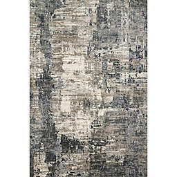 Loloi Cascade 6'7 x 9'2 Area Rug in Ivory/Charcoal