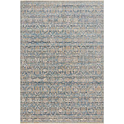 Loloi Claire Rug in Blue/Gold