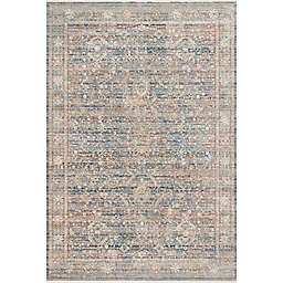 Loloi Claire Rug in Blue/Multicolor