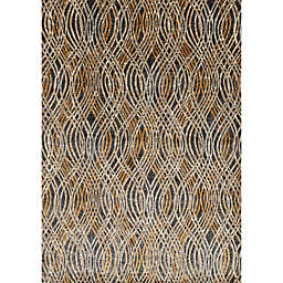 Loloi Dreamscape Rug in Charcoal/Gold