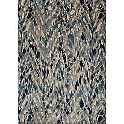 Loloi Dreamscape Rug in Blue/Silver