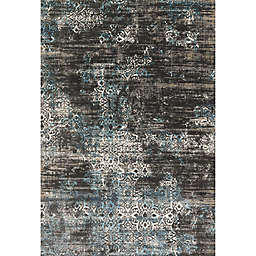 Loloi Kingston Rug in Charcoal/Blue