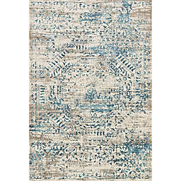 Loloi Kingston Rug in Ivory/Blue