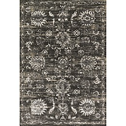 Loloi Kingston Rug in Charcoal/Silver