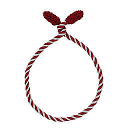 6-Pack Decorative Twist Ties in Red/White