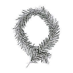 GarlandTies 20-Pack Frosted Pine Twist Ties in White