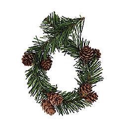 GarlandTies 20-Pack Pine with Pinecone Twist Ties in Green