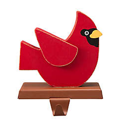 Glitzhome® Cardinal Stocking Holder in Red