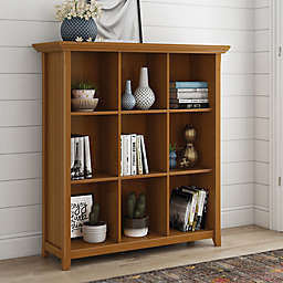 Simpli Home Acadian Cube Solid Wood Storage Unit Collection