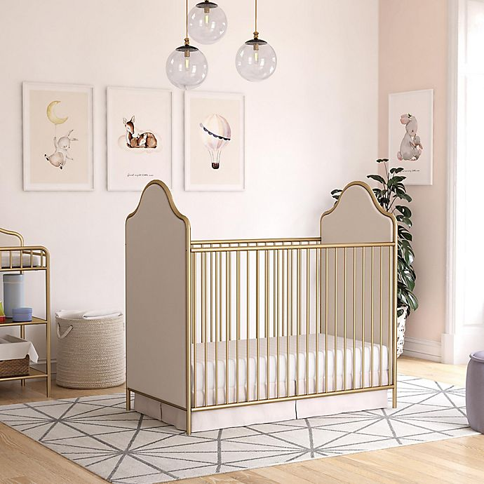 Alternate image 1 for Little Seeds Piper Nursery Furniture Collection in Gold