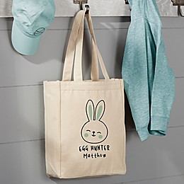 Easter Bunny Icon Canvas Tote Bag