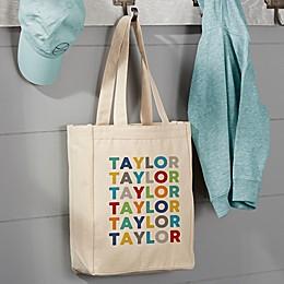 Vibrant Canvas Tote Bag