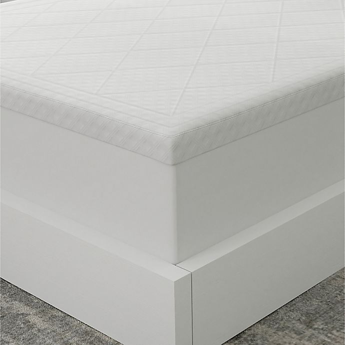 Alternate image 1 for Therapedic® Deluxe Quilted 3-Inch Memory Foam Queen Mattress Topper