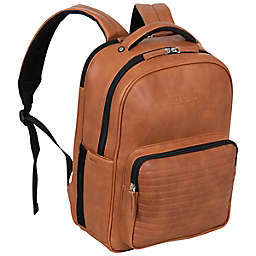 Kenneth Cole Reaction On Track Pack Vegan Leather 15.6-Inch Laptop Backpack