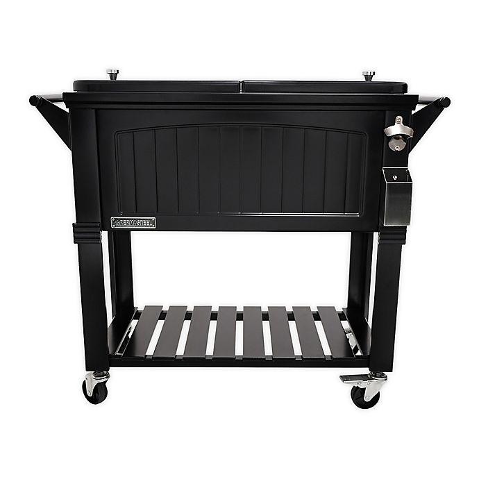 Alternate image 1 for Permasteel 80-Quart Furniture Rolling Cooler