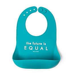 Bella Tunno® Little Activist Future Equal Wonder Bib in Teal