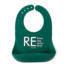Bella Tunno® Little Activist Recycle Wonder Bib in Green