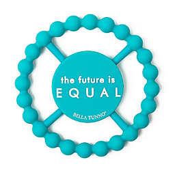 Bella Tunno® Little Activist Future Equal Happy Teether in Blue
