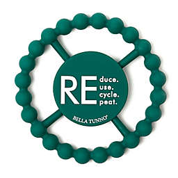 Bella Tunno® Little Activist Recycle Happy Teether in Green