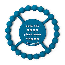 Bella Tunno® Little Activist Save the Seas Happy Teether in Blue
