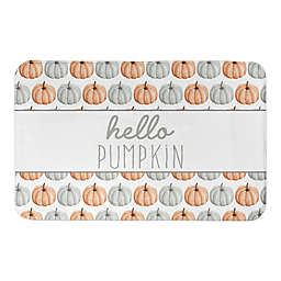 Hello Pumpkin Bath Mat
