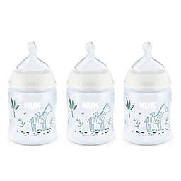 NUK® Smooth Flow™ Zebras 3-Pack 5 oz. Anti-Colic Bottle in Orange