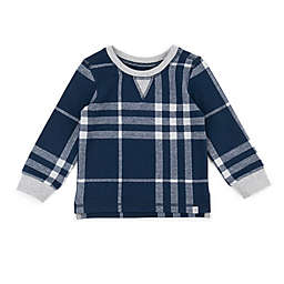 Sovereign Code™ Size 0-3M Plaid Sweatshirt in Navy