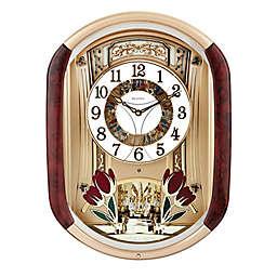 """Bulova Fantastic 20-Inch x 14.75"""" Wall Clock"""