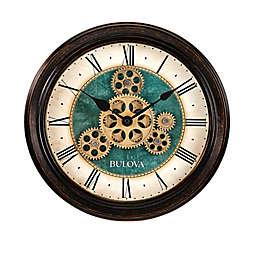 Bulova Industrial Motion 13-Inch Round Wall Clock