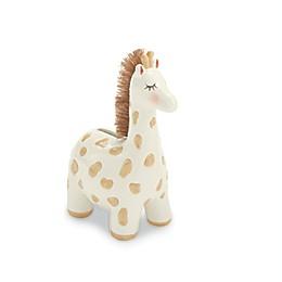 Mud Pie® Ceramic Giraffe Bank in Tan