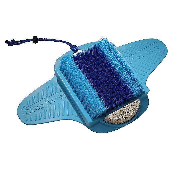 Alternate image 1 for Fresh Feet™ Scrubber in Blue