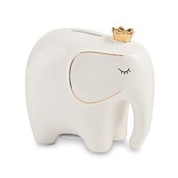Mud Pie® Ceramic Mini Elephant Bank in White