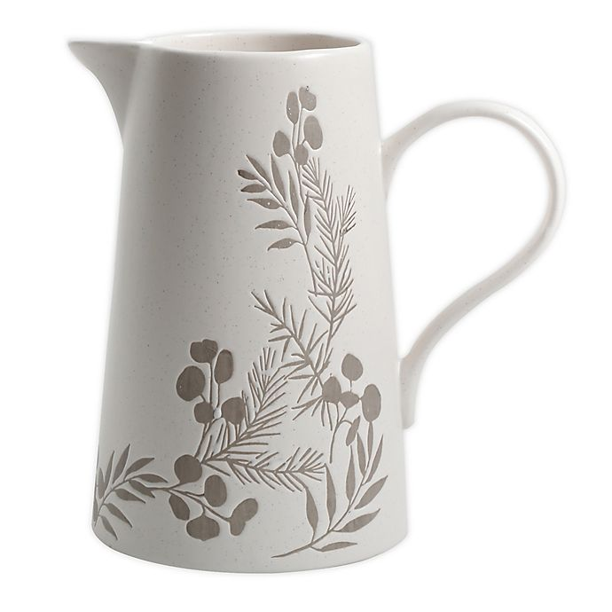 Alternate image 1 for Bee & Willow™ Home Prescott Pitcher in White