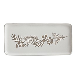 Bee & Willow™ Home Prescott 13.35-Inch Oblong Platter in White