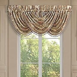J. Queen New York Juliette Waterfall Window Valance in Terracotta