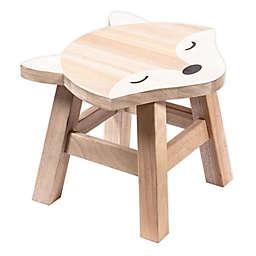 Prinz Fox Children's Wooden Stool