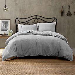 Brielle Callan 3-Piece Reversible King Comforter Set in Light Grey