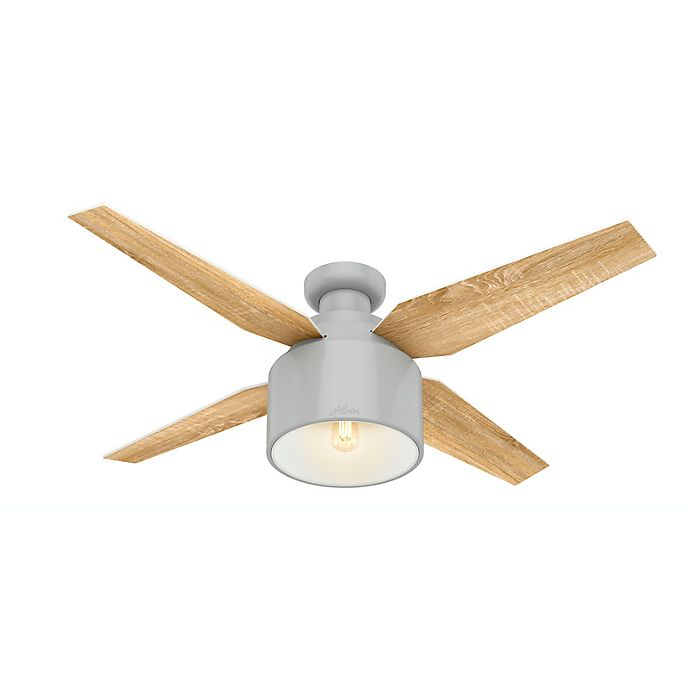 Alternate image 1 for Hunter Cranbrook 52-Inch Ceiling Fan with LED Light Kit