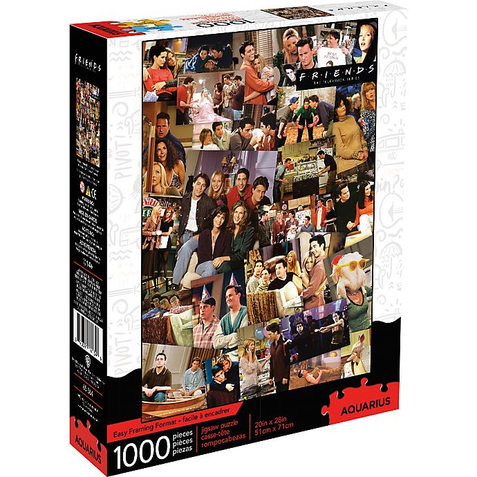 Alternate image 1 for Friends Collage 1000-Piece Puzzle