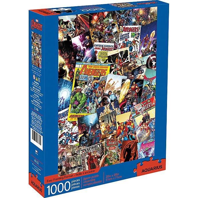 Alternate image 1 for Marvel Avengers 1,000-Piece Collage Puzzle