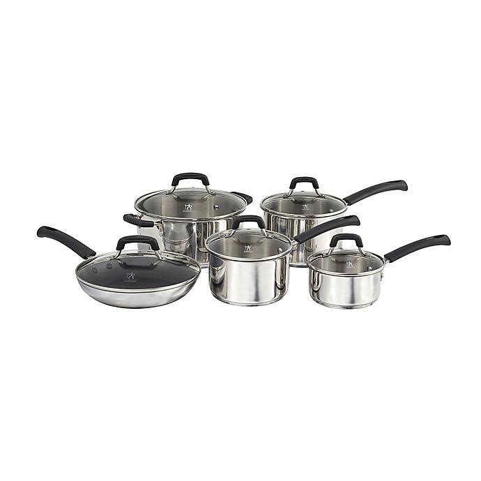 Alternate image 1 for J.A. Henckels International Kitchen Elements 10-Piece Cookware Set