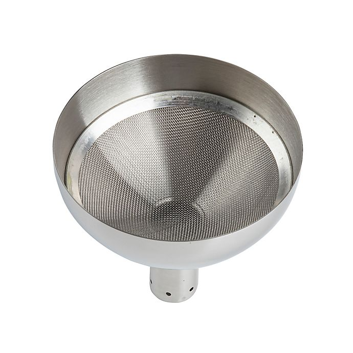 Alternate image 1 for TableCraft® Stainless Steel Wine Funnel & Strainer