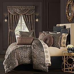 J. Queen New York Mahogany Comforter Set in Chocolate
