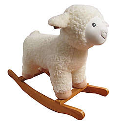 Kids Preferred® Large Plush Lamb Rocker in Cream