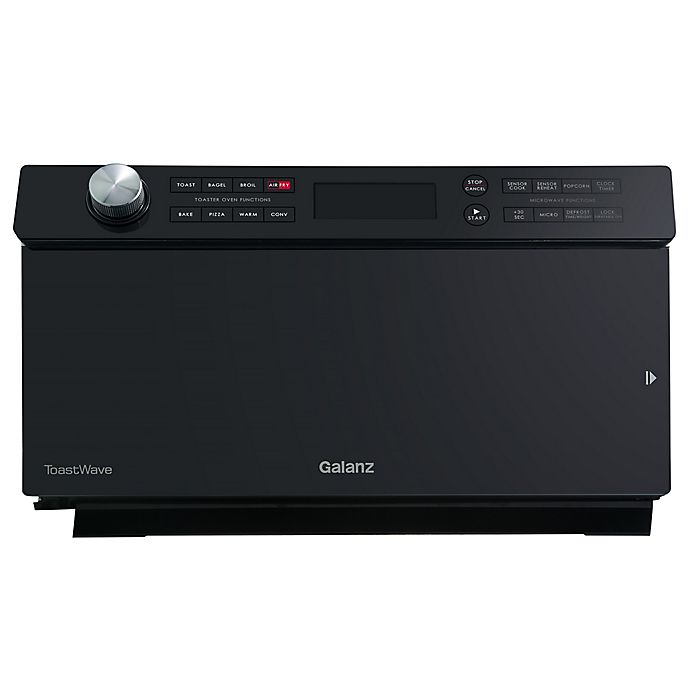 Alternate image 1 for Galanz 1.2 cu. ft. ToastWave™ 4-in-1 Countertop Oven in Black