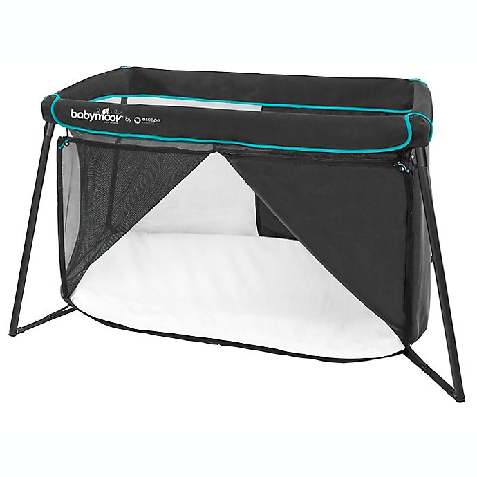Alternate image 1 for Babymoov® Naos Travel Bed in Black