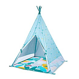 babymoov® Teepee Tent with Play Mat in Blue